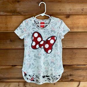 Disney Minnie Bow Tunic Shirt (XS 4-5)
